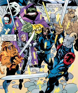 Knights of Wundagore (Earth-616) from Quicksilver Vol 1 1 001