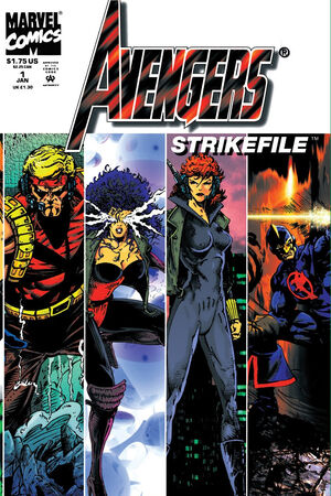 Avengers Strikefile Vol 1 1