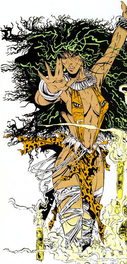 Calypso Ezili (Earth-616) from All-New Official Handbook of the Marvel Universe Vol 1 2 0001