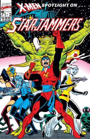 X-Men Spotlight on Starjammers Vol 1 1