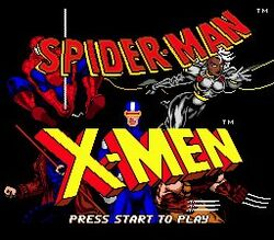 Spider-Man X-Men- Arcade's Revenge