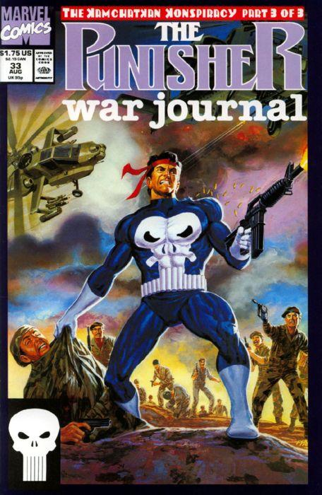 Punisher War Journal Vol 1 33 | Marvel Database | FANDOM ...