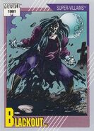 Blackout (Lilin) (Earth-616) from Marvel Universe Cards Series II 0001