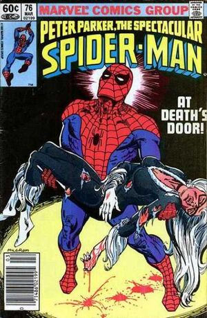 Peter Parker, The Spectacular Spider-Man Vol 1 76