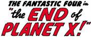 Fantastic Four Vol 1 7 Part 5 Title
