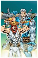 X-Force Shatterstar Vol 1 3 Textless