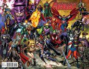 Avengers Vol 6 0 Adams Variant (Wraparound)