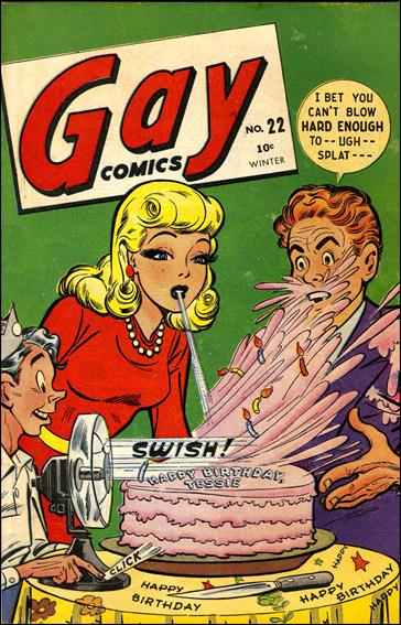 gay comix 8 cover photos