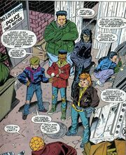 Yancy Street Gang from Fantastic Four Vol 1 361