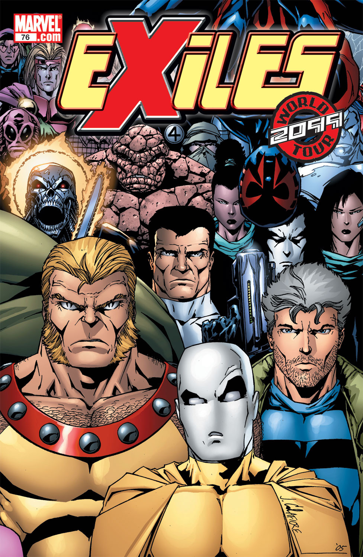 Exiles Vol 1 76   Marvel Datab...