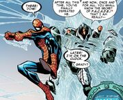FACADE and Peter Parker (Earth-616) from Amazing Spider-Man Vol 1 678 0001