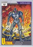 Ultron (Earth-616) from Marvel Universe Cards Series II 0001