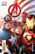 Avengers Vol 5 44 Cheung Variant