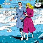 Reed and Sue Richards (Earth-616) discuss their dissatisfaction with the Avengers from Fantastic Four Vol 1 326