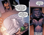 Henry McCoy (Earth-616) Abigail Brand (Earth-616) X-Men Regenesis Vol 1 1
