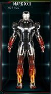 Iron Man Armor MK XXII (Earth-199999)