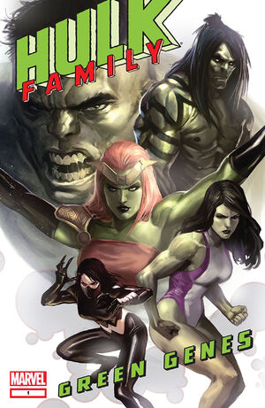 Hulk Family - Green Genes Vol 1 1