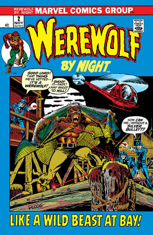 Werewolf by Night Vol 1 2