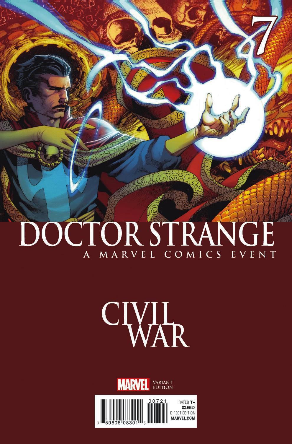 Resultado de imagem para doctor strange civil war