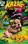 Ka-Zar the Savage Vol 1 16