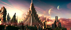 Asgard (City) from Thor (film) 001