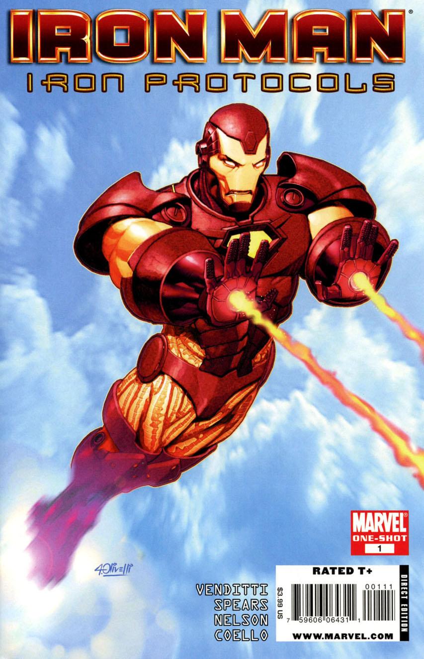 Iron man iron protocols vol 1 1 marvel database - Iron man 1 images ...