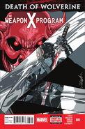 Death of Wolverine The Weapon X Program Vol 1 5