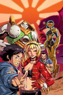 Big Hero 6 Brave New Heroes Vol 1 1 Textless