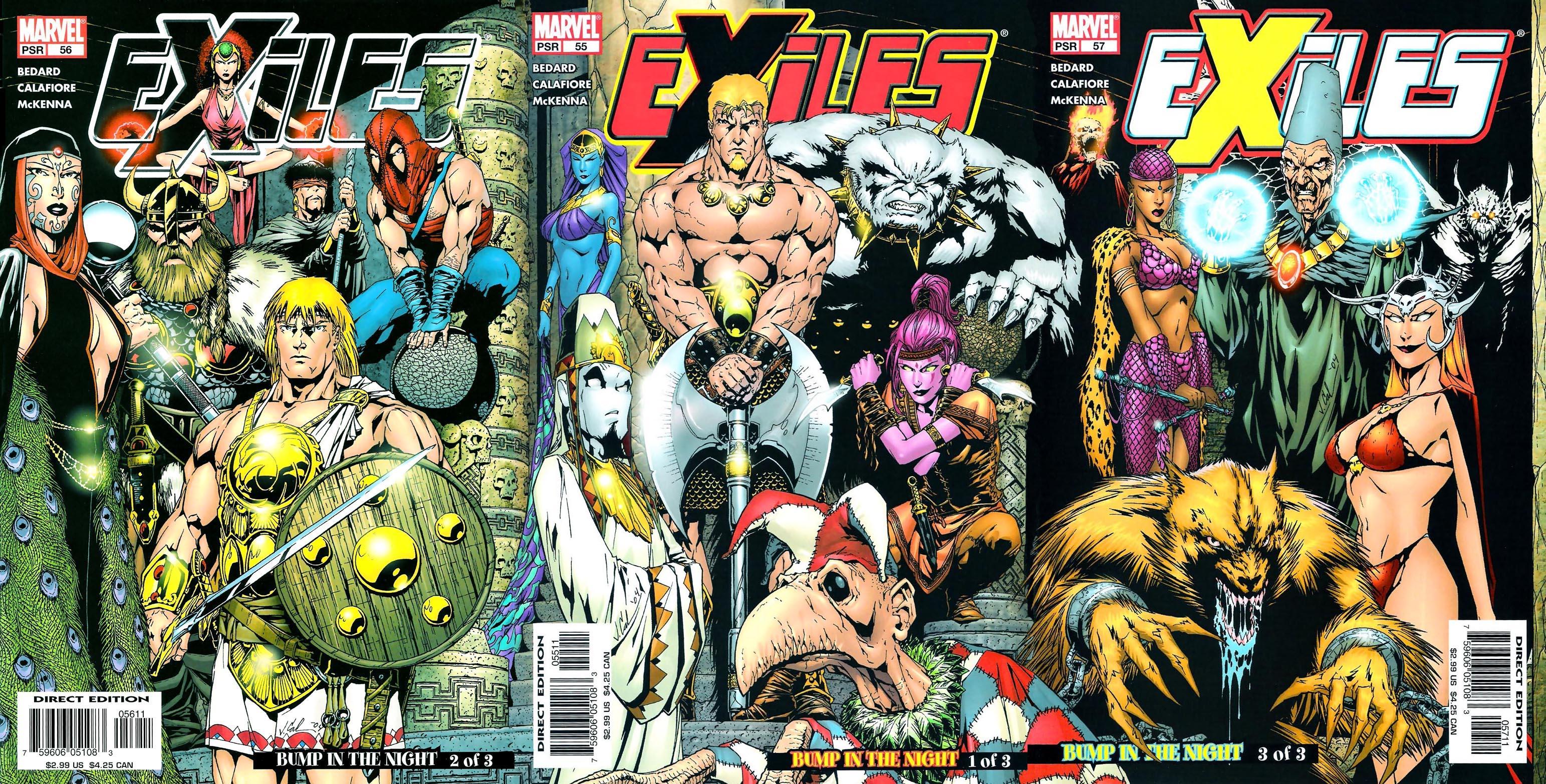 Exiles Vol 1 56 - Marvel Datab...