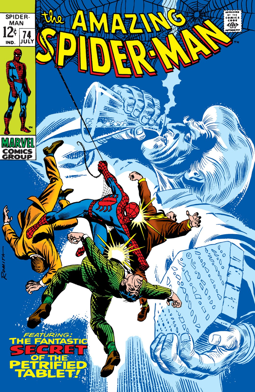 Amazing Spider Man Vol 1 74 Marvel Database Fandom