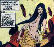 Gaea (Earth-616) from Silver Surfer Annual Vol 1 2 002