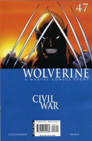 Wolverine Vol 3 47