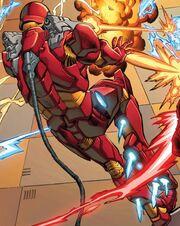 Iron Man Armor Model 46 from Iron Man Vol 5 15 002