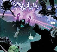 Victor von Doom (Earth-616) vs. Mad Thinker (Earth-616) from Infamous Iron Man Vol 1 2 001