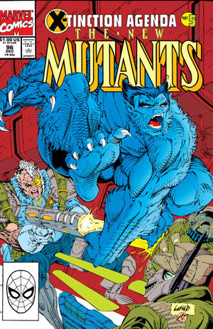 New Mutants Vol 1 96