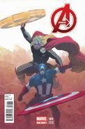 Avengers Vol 5 1 Ribic Variant