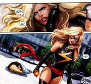 Ms. Marvel Vol 2 46 page - Carol Danvers & Karla Sofen (Earth-616)