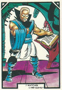 Uatu (Earth-616) from Arthur Adams Trading Card Set 0001