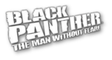 Black Panther Man Without Fear logo