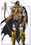 Jesse Black Crow (Earth-616) from Official Handbook of the Marvel Universe Mystic Arcana The Book of Marvel Magic Vol 1 1 0001