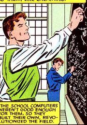 Reed Richards (Earth-616) attending State U (Fantastic Four VS X-Men Vol 1 4)