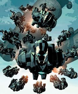 War Machine Drones (Earth-616) from Avengers Vol 5 39 002