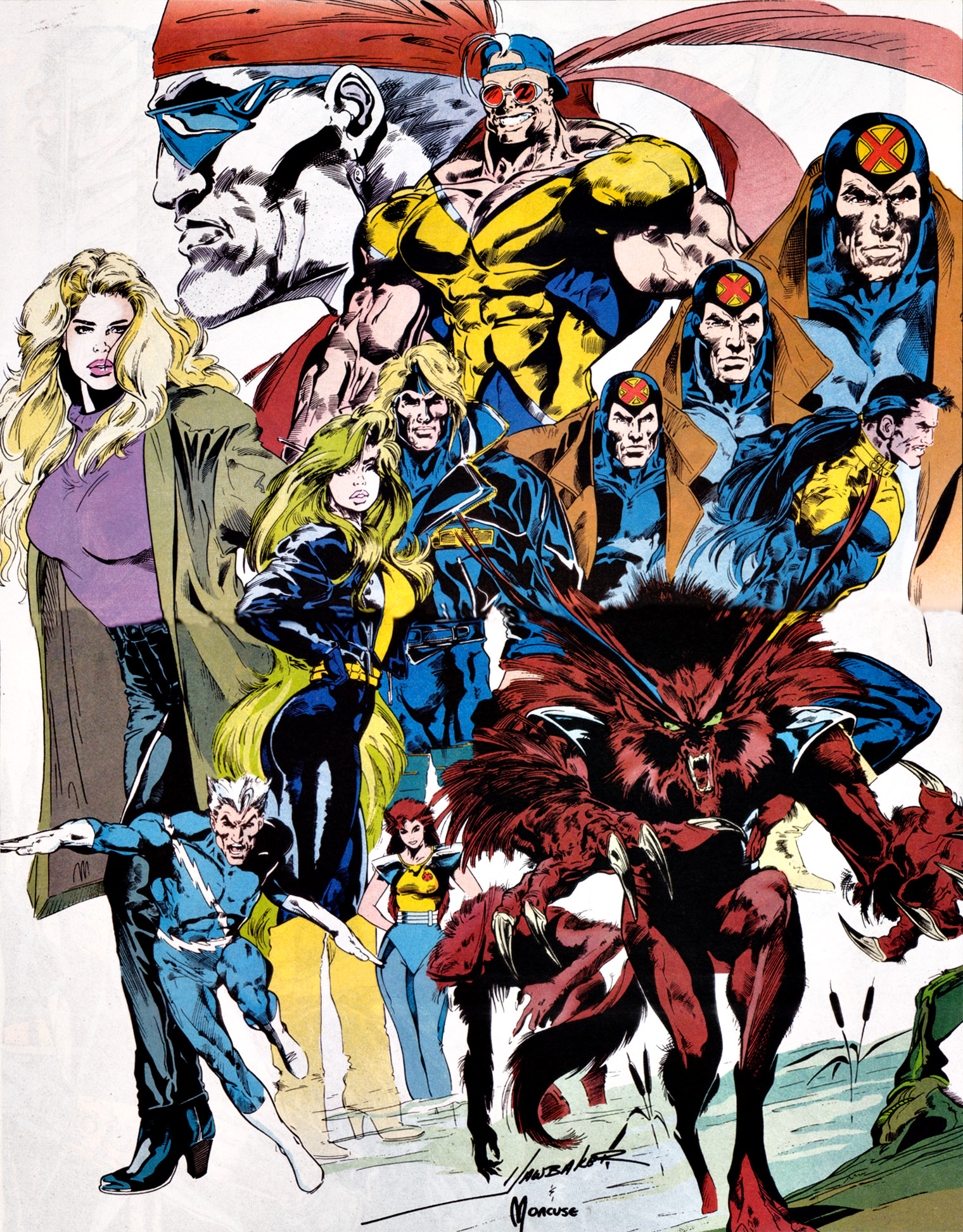 X factor government earth 616 marvel database - X factor x men ...