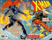 X-Man Vol 1 25 Wraparound Cover