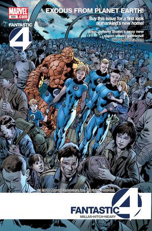 Fantastic Four Vol 1 555