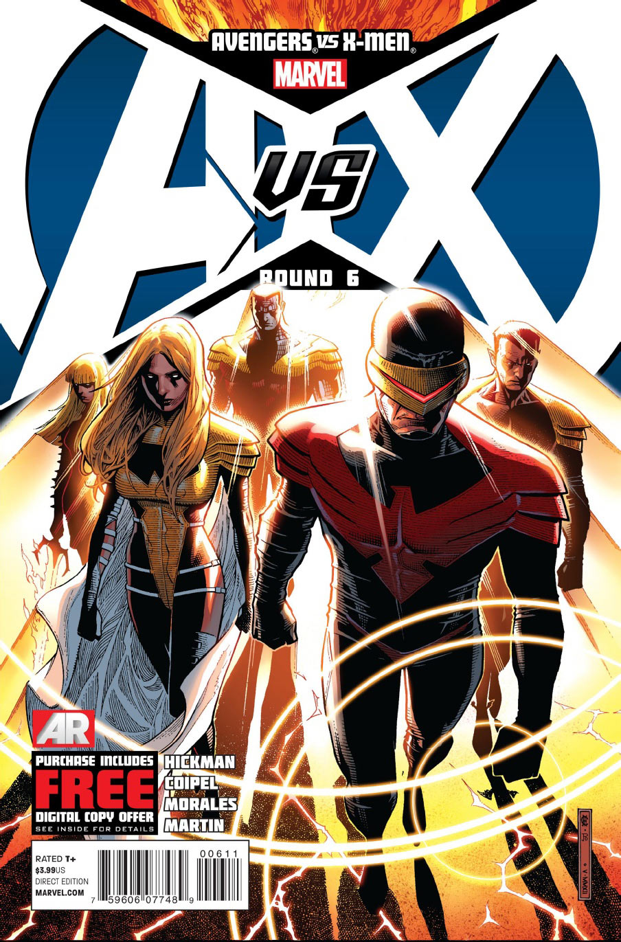Avengers vs. X-Men Vol 1 6  Marvel Database  Fandom powered by Wikia
