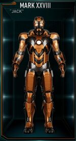 Iron Man Armor MK XXVIII (Earth-199999)