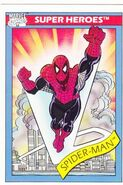 Peter Parker (Earth-616) from Marvel Universe Cards Series I 0003