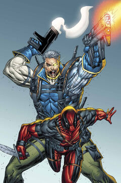 Cable & Deadpool Vol 1 2 Textless