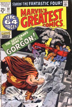 Marvel's Greatest Comics Vol 1 33